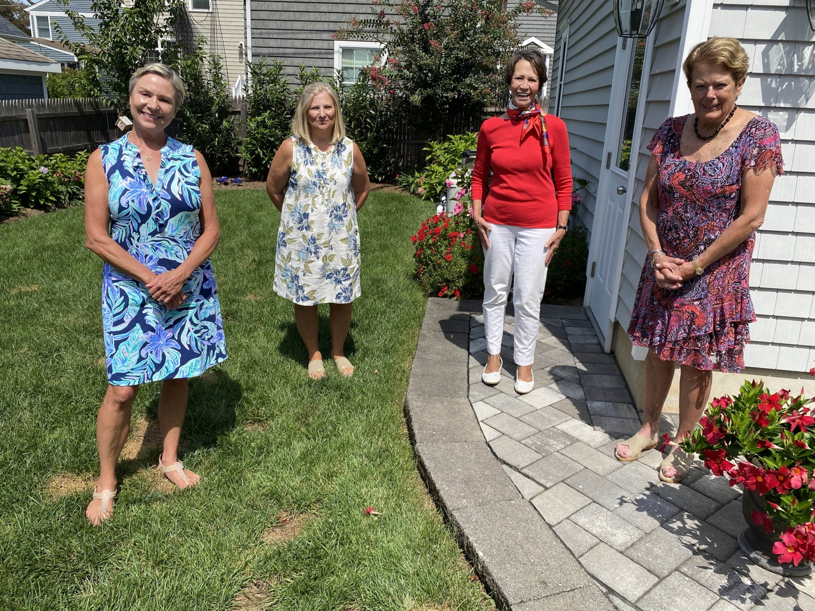 New Member Luncheon and celebration of our member winning Perennial Bloom Award